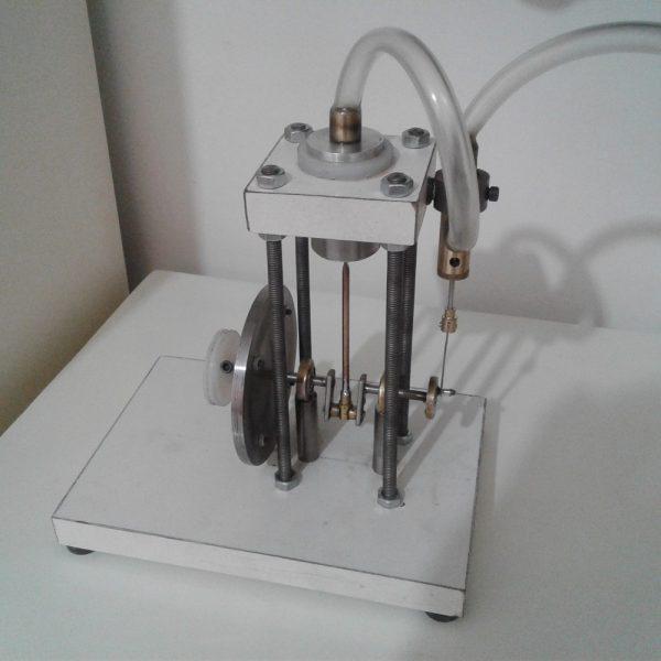 موتور بخار پیستونی