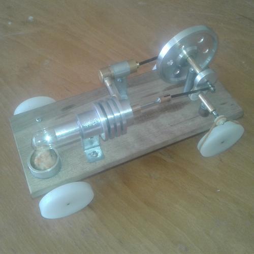 ماشین با موتور استرلینگ